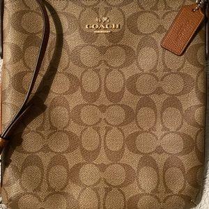 Coach crossbody satchel
